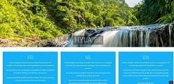 Site Web portail de Hyla Belgique