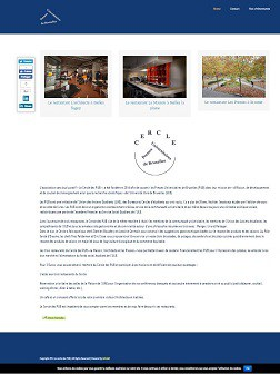 Site Web du cercle des presses universitaires de Bruxelles.