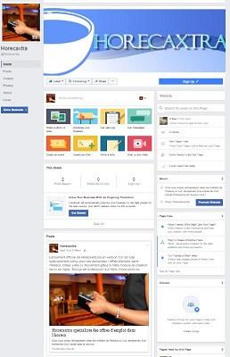 La page Facebook de Horecaxtra