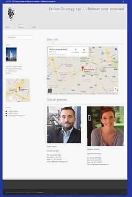 Site Web de l'entreprise Kraken Strategy.