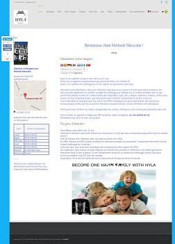 Site Web de la société Methodi Naturalis